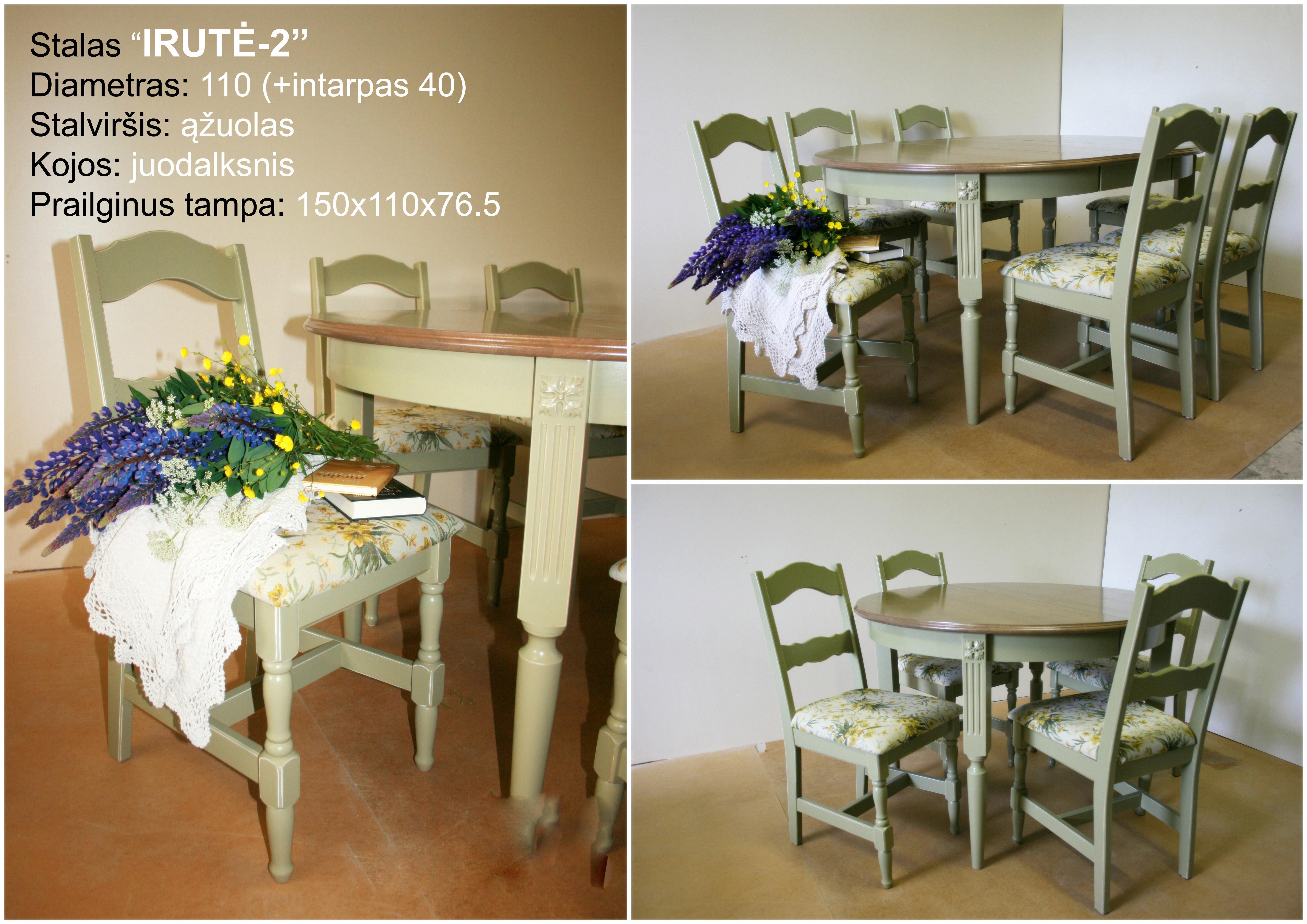 Stalas Irute-2 no prices