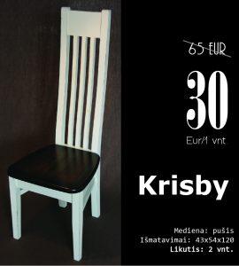 Krisby kaina