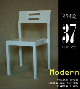 Modern balta su skylem kaina