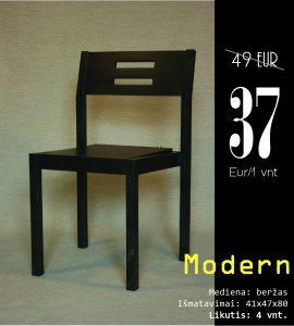 Modern juoda su skylem kaina