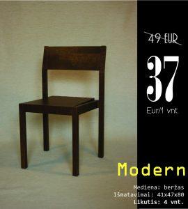 Modern ruda be skyliu kaina